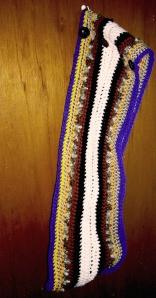 crochet tube scarf